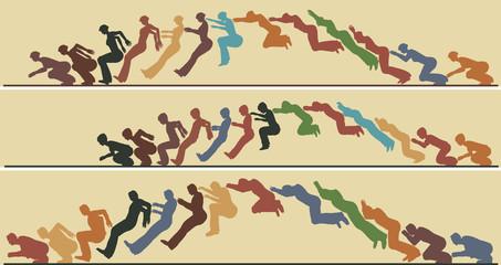 Animated jump