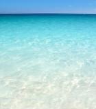 Caribbean turquoise sea beach shore white sand
