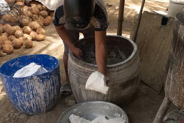 Pâte de manioc