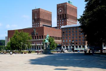 Rathaus in Oslo, Norwegen