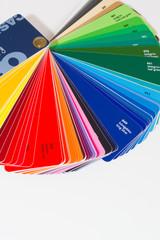Farbfächer für Werbetechnik