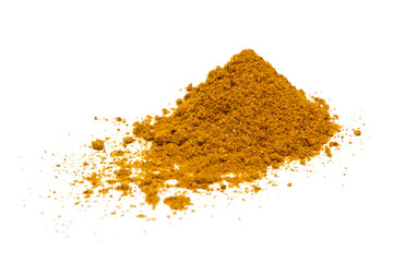 Close-up of curry spice