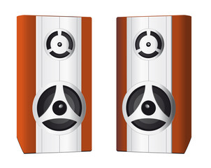 Two speakers for your computer
