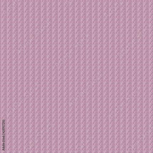 вязка косичкой розовая.