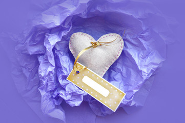 Heart Gift with Tag