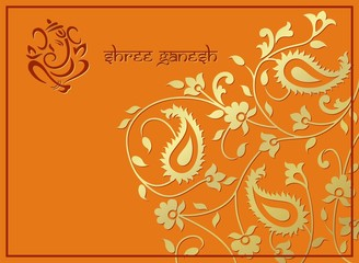 traditional hindu wedding card