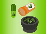 Vector Alternative Medicine poster