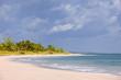 Pink sand beach on the island of Eleuthera