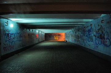 Kiev,Ukraine. Underground pass