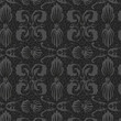 old style black-and-white seamless background pattern