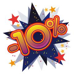 Soldes promotions remises prix vente commerce promo 10%