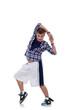 modern dancer poses