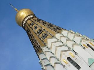 The saint alexi Russian orthodox church in Leipzig in Germany