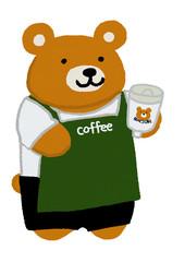 クマさんのコーヒーショップ