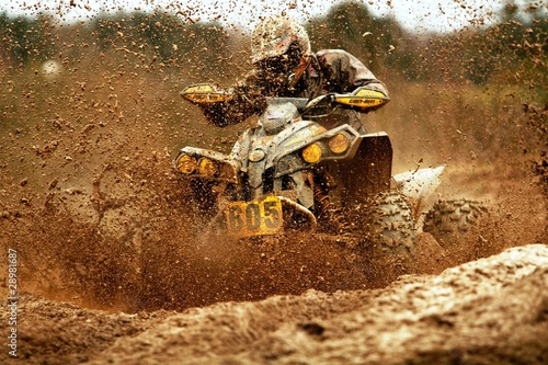 Staande foto Motorsport Quad racing