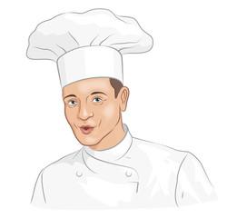 Junger Chefkoch