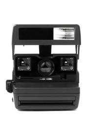 Old instant film camera