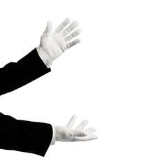 illusionist  hands