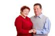 Portrait eines glücklichen älteren Ehepaars