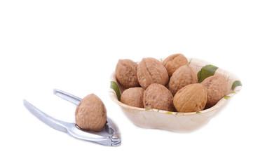 walnuts and cracker