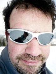 Portrait d'un skieur