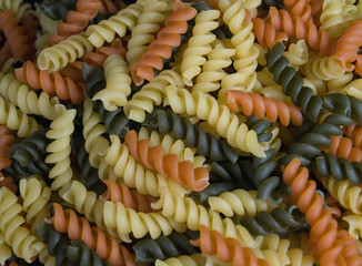 Multicolor Pasta