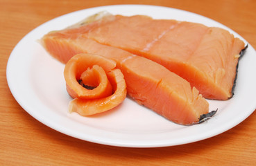 fish on plate