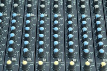 Botonadura de sonido e iluminación