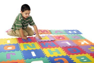 Assembling the Alphabet