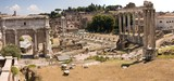 Ruins of Ancient Rome - view from the Campidoglio