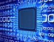 binary computer chip