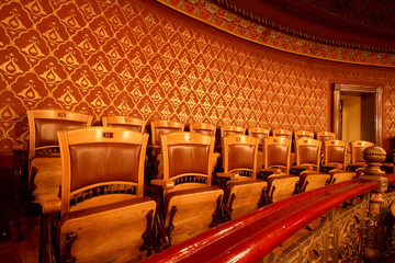 chairs in theatre