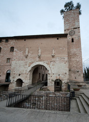 Spello's entrance
