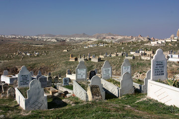 Friedhof in Kappadokien