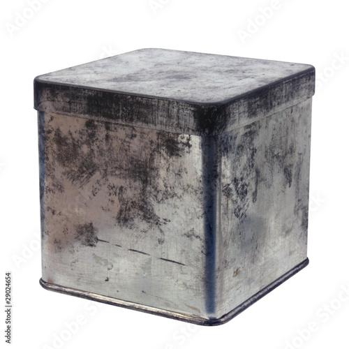 Boîte en fer (fermée)
