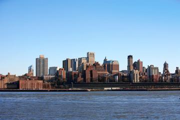 NYC - Bronx, view from Manhattan, USA