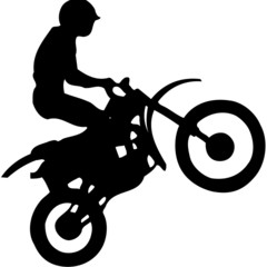freestyle motorcyclist