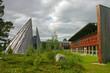 Leinwanddruck Bild - The Sami Parliament in Karasjok