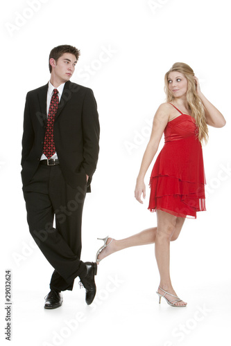 A Boy Walking Away From A Girl Attractive teenage girl walking away from teenage boy by Flint Images ...