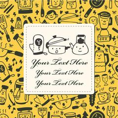 kitchen card