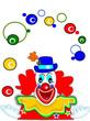 Clown mit Bällen
