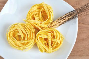 Tagliatelle, pasta all'uovo