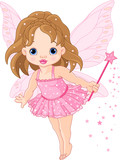 Fototapety Cute little baby fairy