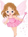 Fototapety Cute little baby fairy