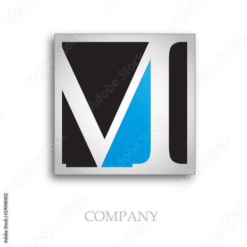 letter m logo. Logo initial letter M # Vector
