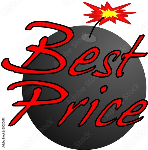 Best Price Bomb Label