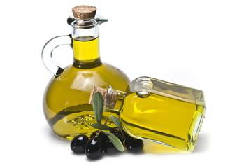 Aceite de oliva para una dieta sana.