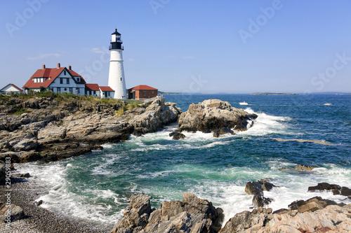 Aluminium Kust Lighthouse in Portland, Maine