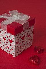Heart Gift Box with Chocolates