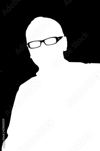 Adult Man Silhouette
